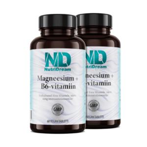 Magneesium + b6-vitamiin Eesti toidulisand