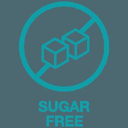 Suhkruvaba toidulisand ikoon